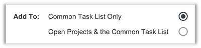 FunctionFox product image applying tasks to only common list.