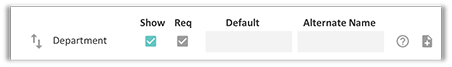 FunctionFox product image department form field default option